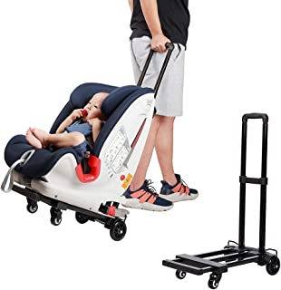 Car Seat Travel Carts , Stroller with Wheels,for Air Travel , Light and Portable