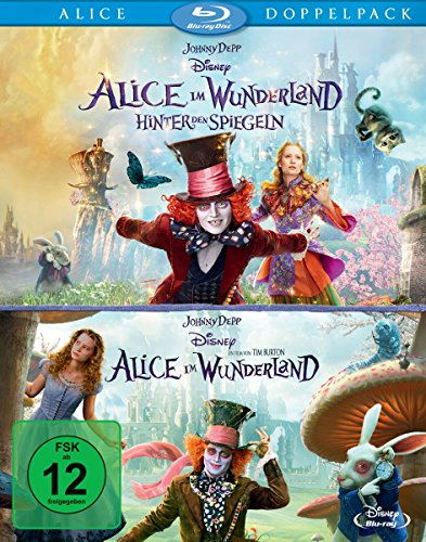 Alice im Wunderland 1+2 [Blu-ray]
