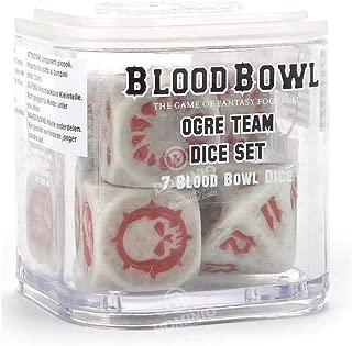 Games Workshop Warhammer Blood Bowl: Ogre Team Dice Set