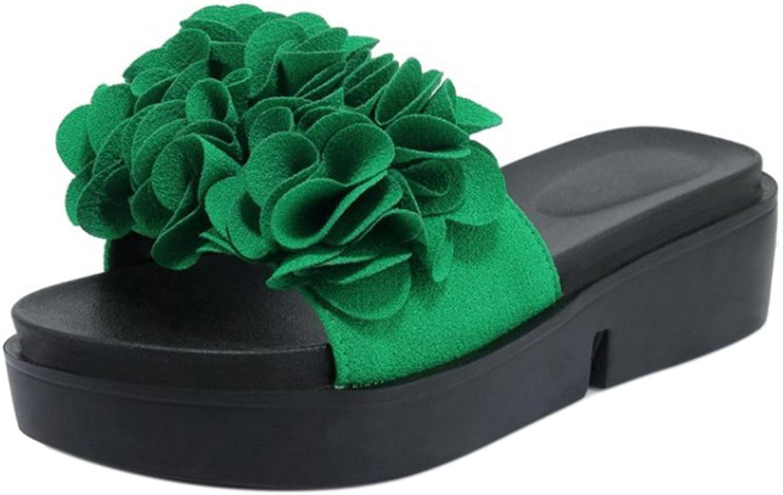 CarziCuzin Women Fashion Slip On Sandals shoes Platform