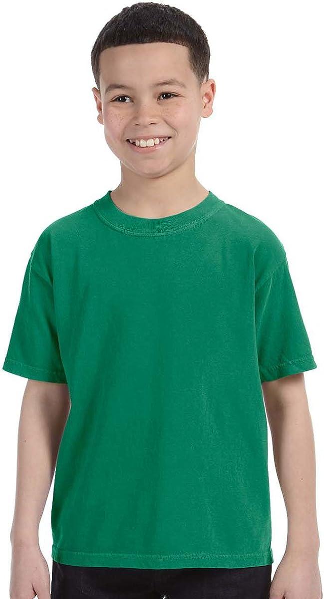 Comfort Colors C9018 Youth Ringspun Garment-Dyed T-Shirt XS Grass