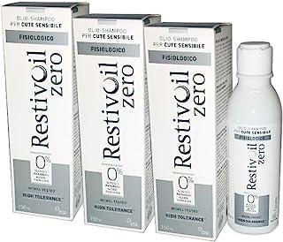 3X RESTIVOIL ZERO - Olio Shampoo Fisiologico da 150ml - ALTÀ TOLLERABILITÀ