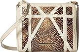 Brahmin Women's Carrie Crossbody Gold Crossbody Bag