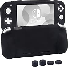 Silicone Protective Case for Nintendo Switch Lite, Soft Grip Case Cover with Comfort Ergonomic Handles for Nintendo Switch...