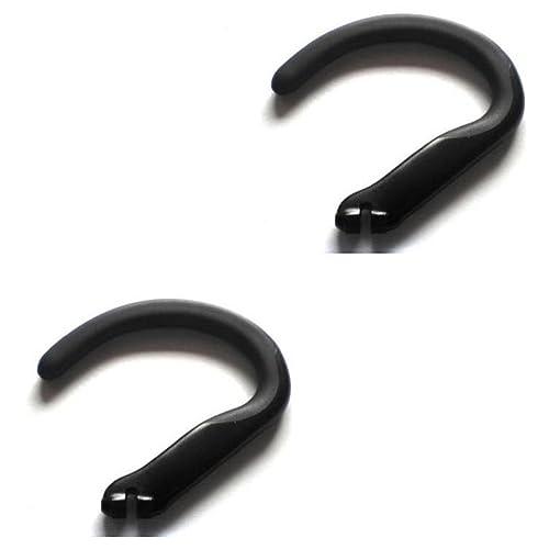 dbd5b07bd95 2pcs New Black Earhooks for Plantronics Voyager 520 521 835 Explorer 235  320 395 245 243