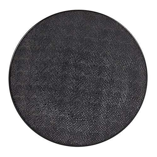 TABLE PASSION Plat de Service 31 cm Vesuvio Noir