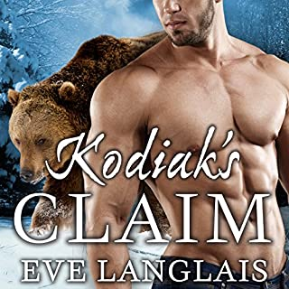 Kodiak's Claim     Kodiak Point, Book 1              By:                                                                                                                                 Eve Langlais                               Narrated by:                                                                                                                                 Chandra Skyye                      Length: 6 hrs and 33 mins     514 ratings     Overall 4.3