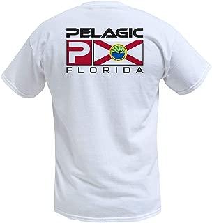 Men's Florida Flag Fishing T-Shirts