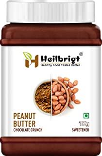 Heilbrigt Chocolate Crunchy Peanut Butter 1kg