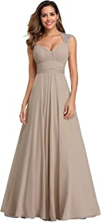 Chiffon Sexy V-Neck Ruched Empire Line Evening Dress 09672