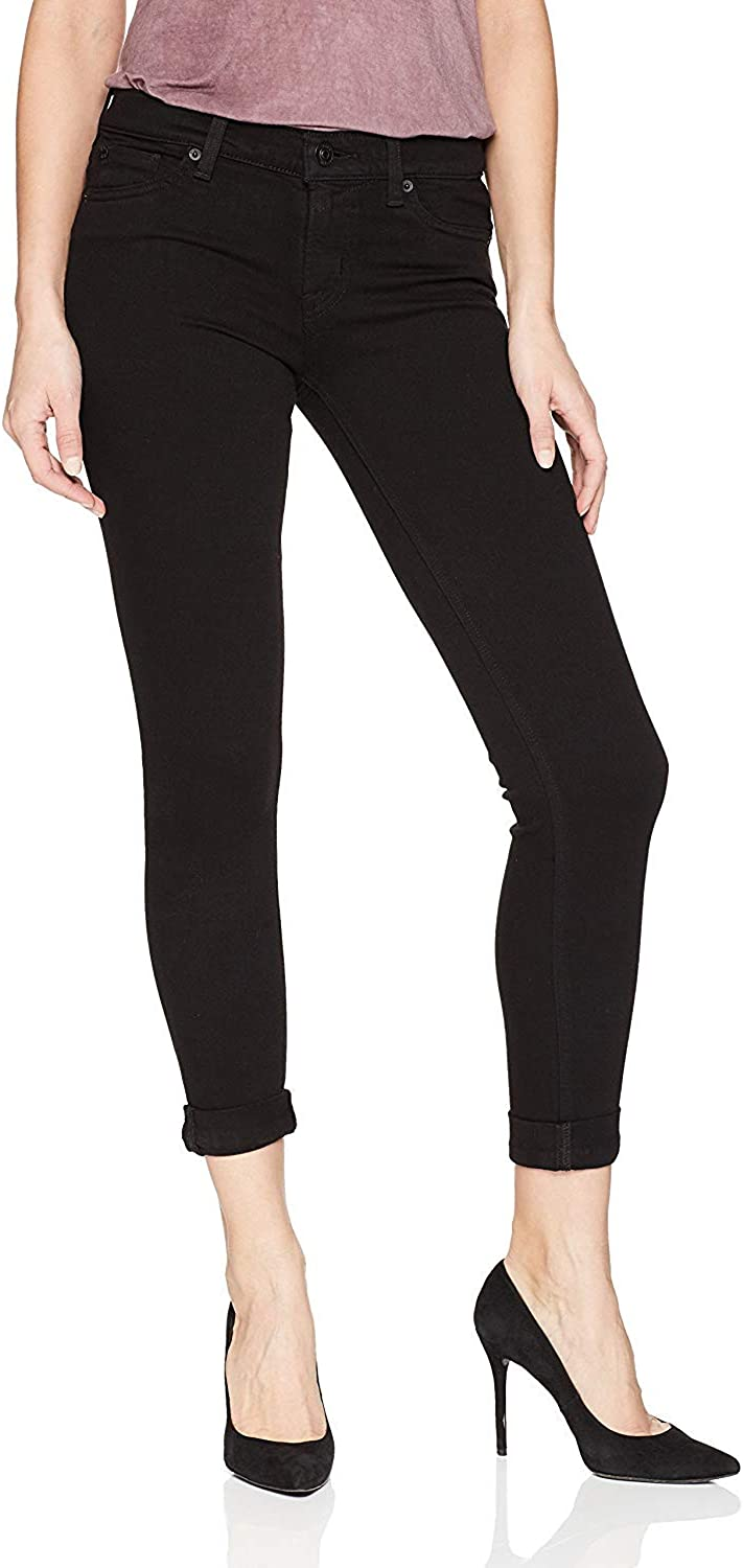 HUDSON Las Vegas Mall Special Campaign Women's Tally Crop Contender Jeans