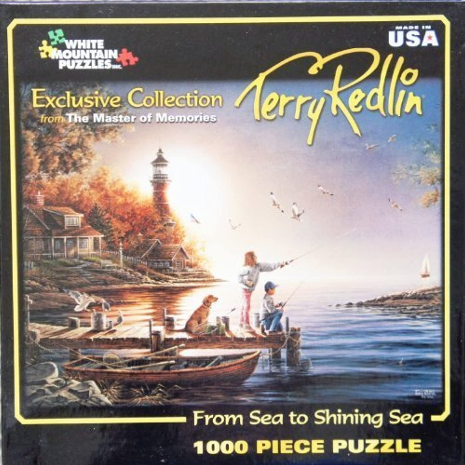excelentes precios Terry rojolin The Master of of of Memories Art From Sea to Shining Sea 1000 Piece Jigsaw Puzzle MADE IN USA Puzzle by Terry rojolin Puzzle  diseño único