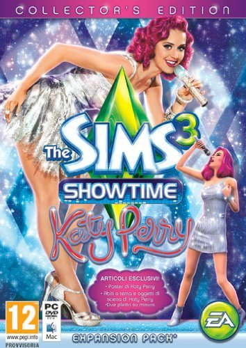 Electronic Arts The Sims 3 Showtime. Katy Perry - Juego (PC, Mac, Simulación, DVD)