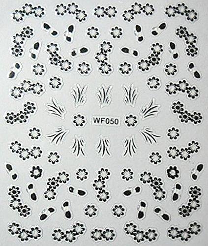 CLUB MODE Nail Art Scrapbooking Stickers Autocollants pour Ongles Fleurs Branches pétales