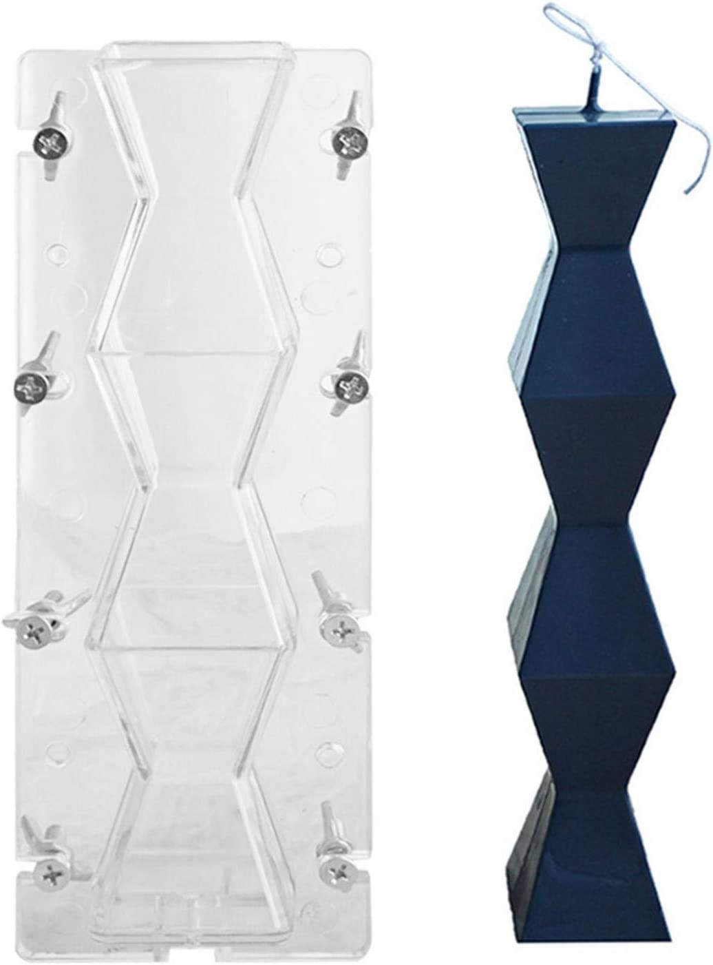Kijomoza Endless Column Direct sale of manufacturer Candle At the price Plastic Hexagonal Mold Mo