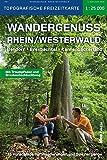 Wandergenuss Rhein-Westerwald Topographische Wander-und Freizeitkarte 1:25 000: 35 Vorschläge für traumhafte Wanderungen und Spaziergänge, inklusive ... Pocket / Pocketwanderführer von ideemedia)