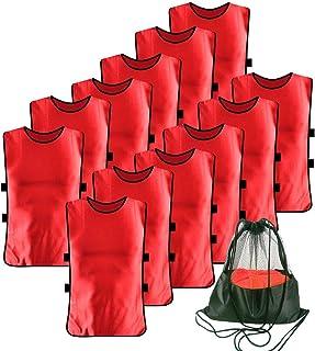 Antoyo 12 Pack Pennies for Soccer Scrimmage Vest Practice...