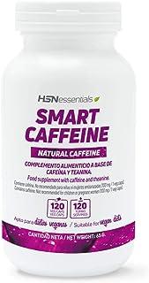 Nootrópico Natural de HSN | Cafeína Inteligente (Smart Caffeine) | Concentración, Estudiar, Estado de Ánimo | Vegano, Sin Gluten, Sin Lactosa, 120 Cápsulas Vegetales