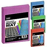 ASAB Alfombrilla Antideslizante para alfombras, Multiusos, Base Antideslizante, 30 x 150 cm, Color Morado