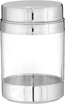 Praylady Acrylic Jar, 650 ml, 1-Piece, Clear