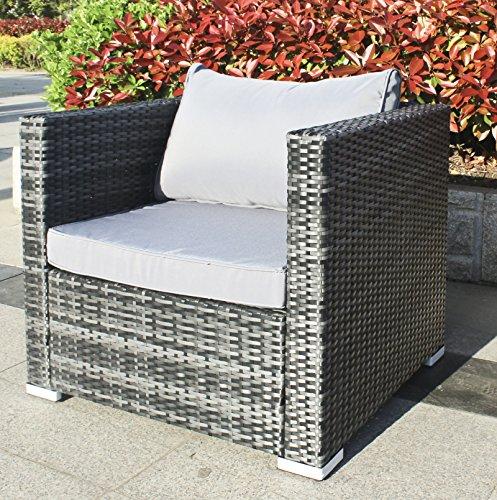 Hansson Polyrattan Gartenmöbel Lounge Set Sitzgruppe kaufen  Bild 1*