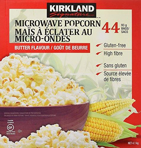 カークランドシグネチャー(KirklandSignature)『電子レンジ用ポップコーン44袋4.1kg』
