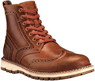 Mens Britton Hill Wing Tip Boot