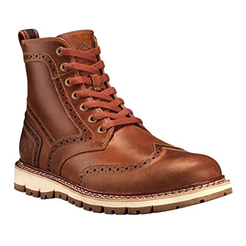 Timberland Mens Britton Hill Wing Tip Boot