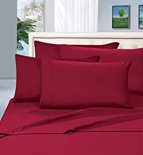 Elegant Comfort 1500 Thread Count Wrinkle & Fade Resistant Egyptian Quality Hypoallergenic Ultra Soft Luxurious 4-Piece Be...