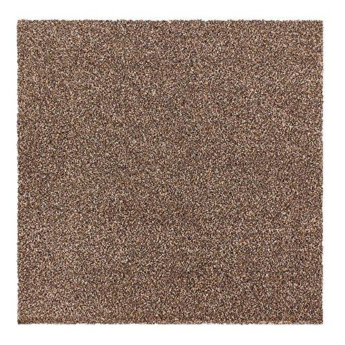 Tapijttegels Intrigo 50x50cm zelfliggend vloerbedekking velours bruin