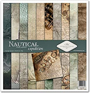 ITD Collection - Emballage Scrapbooking 12 x 12 pouces, Papier Scrapbooking, Découpage, Papier Décor, Papier Carton - 310 ...