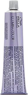 Wella Illumina Permanent Creme Hair Color, 10/69 Lighter Blonde/Violet Cendre, 2 Ounce