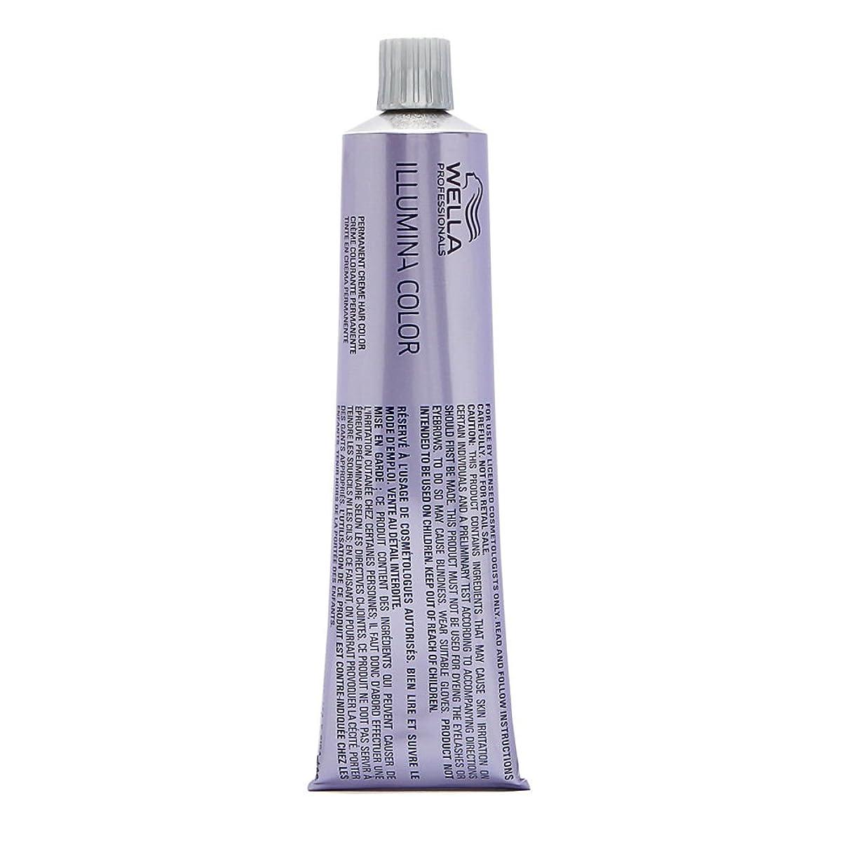 シャーロットブロンテ収束それるWella イルミナの色(ダークブロンド/灰cendre 6/19) 2オンス