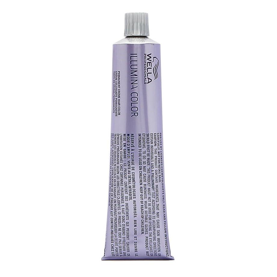 追放するアライメントセクタWella イルミナカラー(ダークブロンド/茶色バイオレット76分の6) 2オンス