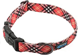 Max and Neo Plaid Pattern Neo Dog Collar - We Donate a Collar to a Dog Rescue Every Collar Sold