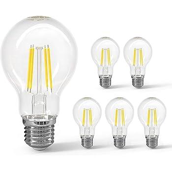 Aigostar - Bombilla LED E27 con Filamento, 8W, ángulo de apertura ...