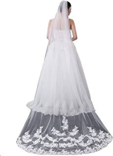 lace veil long