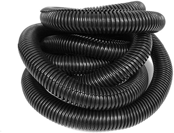 1//4 3//8 98FT Protective Tube Tubing Black Sleeve Tube Split Wire For Cars Home