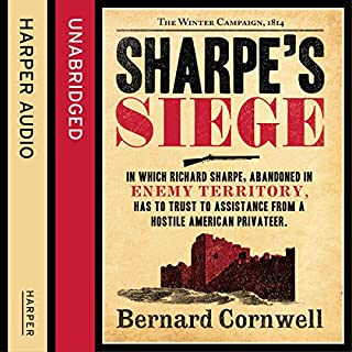 Sharpe's Siege: The Winter Campaign, 1814     The Sharpe Series, Book 18              Auteur(s):                                                                                                                                 Bernard Cornwell                               Narrateur(s):                                                                                                                                 Rupert Farley                      Durée: 11 h et 41 min     5 évaluations     Au global 4,8