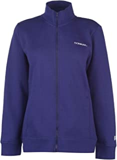 Donnay Womens Full Zip Fleece Ladies Long Sleeve