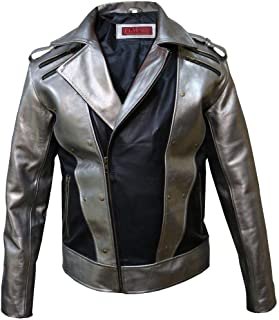 quicksilver leather jacket