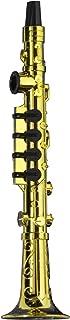 Forum Novelties Gold Clarinet Party Kazoo Play Musical Instrument