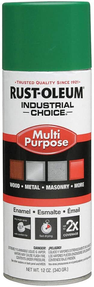 Industrial Choice Spray Paint OFFicial store in Emerald supreme for Gloss Masonry Green