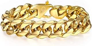 Best cuban link bracelet on wrist Reviews