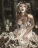Victoria Frances – Vampire Girl Poster Drucken (40,64 x