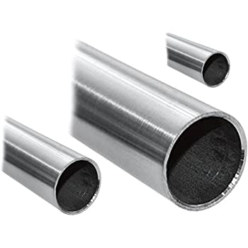 L/änge 1200mm Edelstahl Rundrohr V2A /Ø 48,3x2,6mm 120cm auf Zuschnitt K240