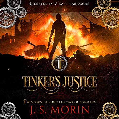 Tinker's Justice audiobook cover art