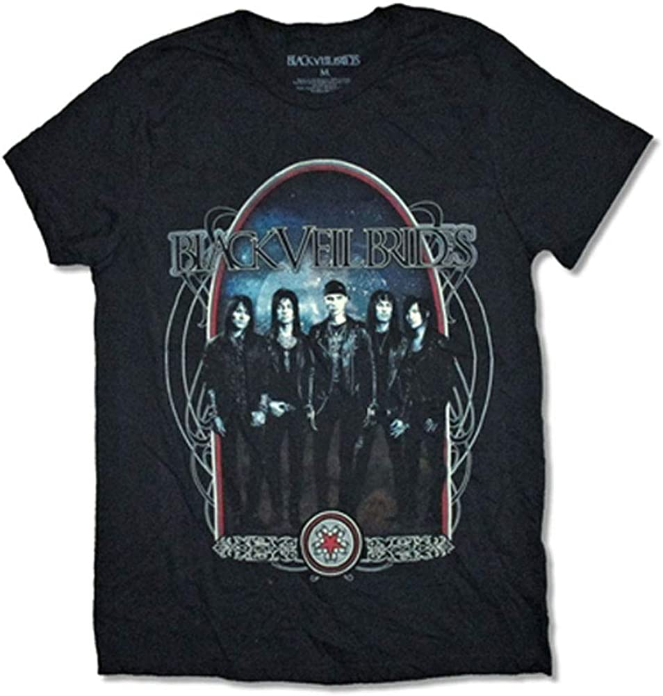 Black Veil Brides Men's Great interest T-Shirt Jackets latest Leather