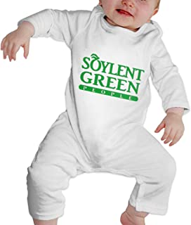 Soylent-Green-People Unisex Long Sleeve Baby Gown Baby Bodysuit Unionsuit Footed Pajamas Romper Jumpsuit