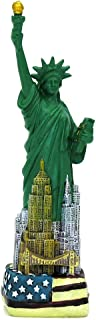 6 Inch Statue of Liberty Replica NYC Skyline American Flag Special Edition Statues
